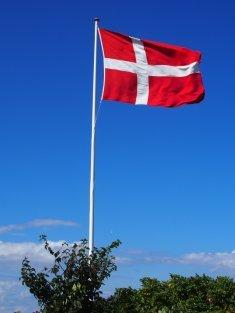 The Danish Flag, Dannebrog.