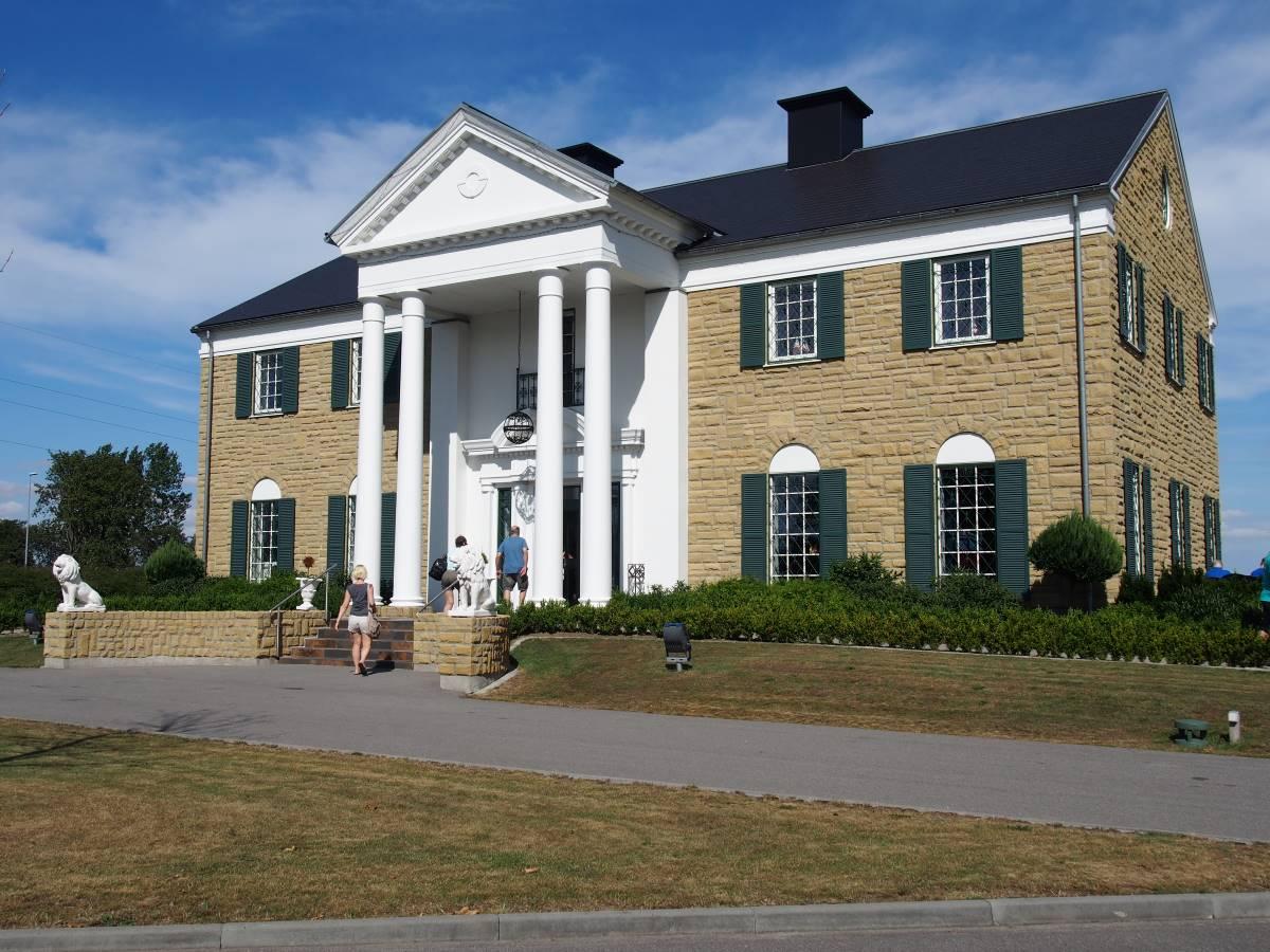 The Elvis Presley museum Graceland in Randers, Denmark.
