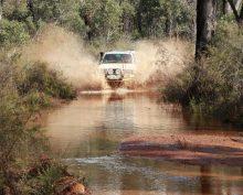 4 Wheeling in Western Australia.