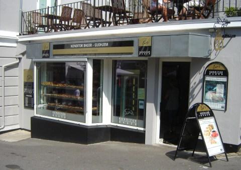 Bakery in Gudhjem, Bornholm, Denmark.