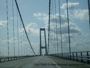 Great Belt Bridge,(Store Bælt Broen) Denmark