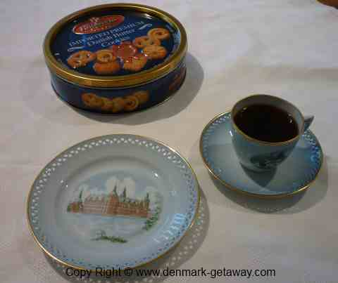 Danish Butter Cookies Tin.