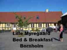 Lille Myregaard B & B, Bornholm.