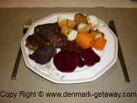 Frikadeller, Danish meatballs
