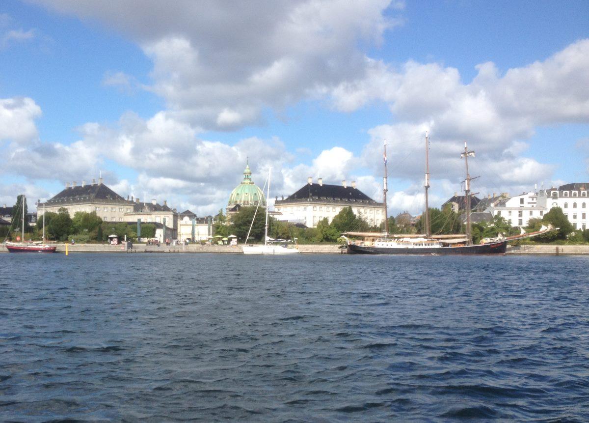 Amalienborg Palace, Copenhagen.