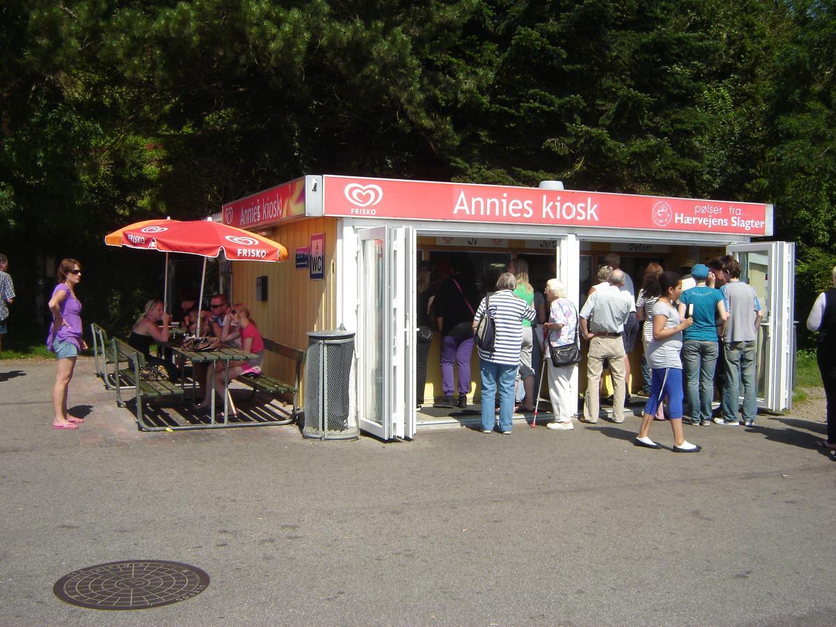Annies Kiosk, Hot Dog stand at Sonderhav, Denmark