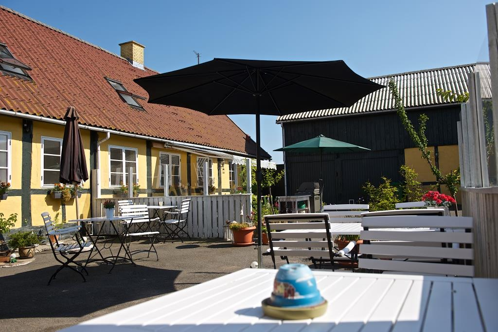 Myregaard Bed and Breakfast's Courtyard.