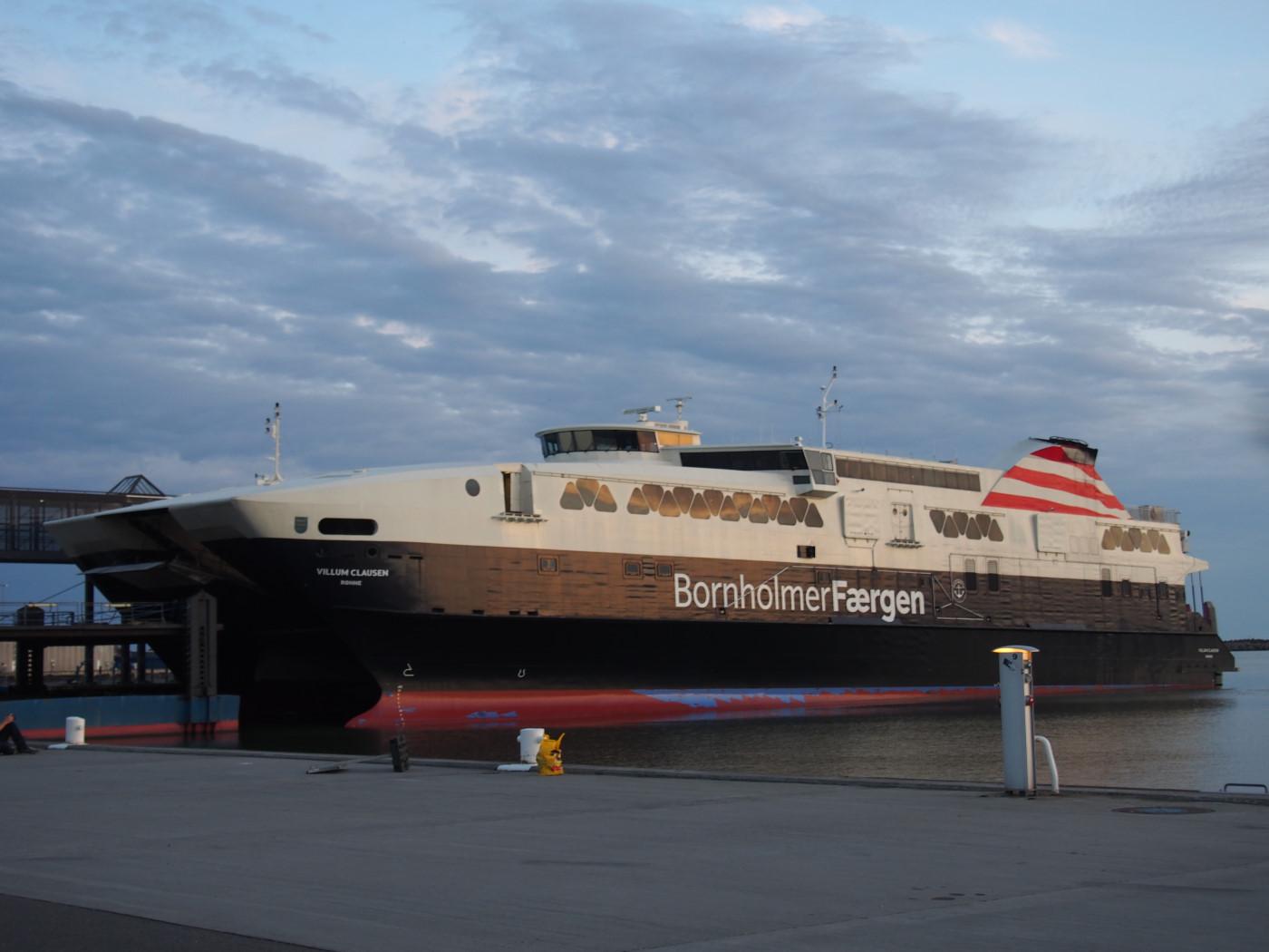 Bornholmer Færgen.