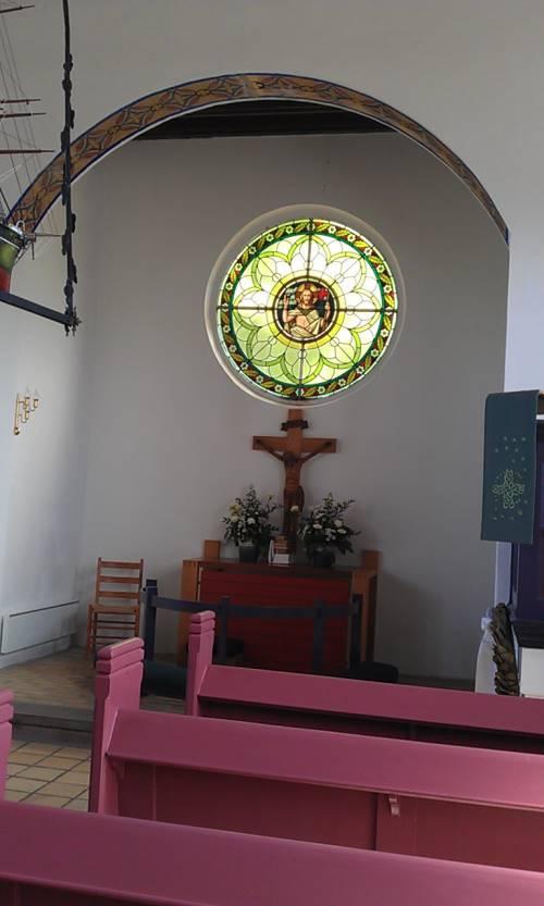 The Christmas Church at Aarø island, Denmark.