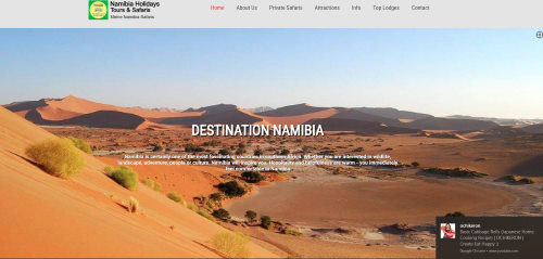 Namibia Safari Holidays.
