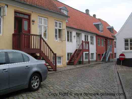 Haderslev, old part of town.