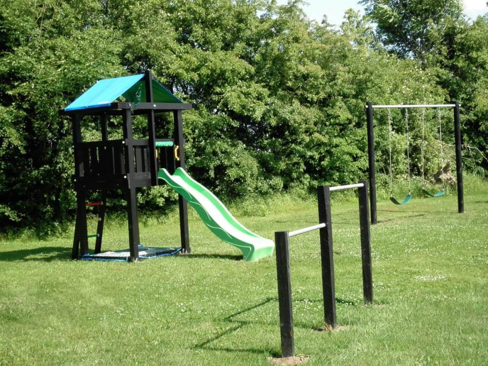 Kids playground at Myregaard B & B.
