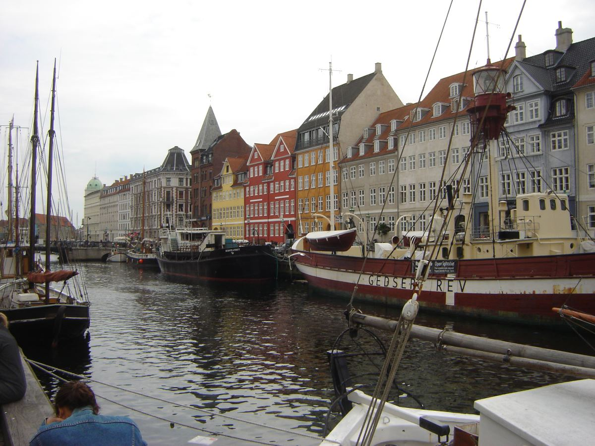 Nyhavn, Copenhagen Denmark.