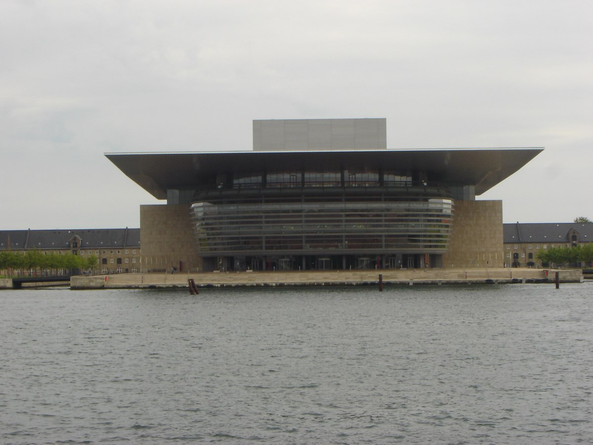 The Opera House in Copenhagen.