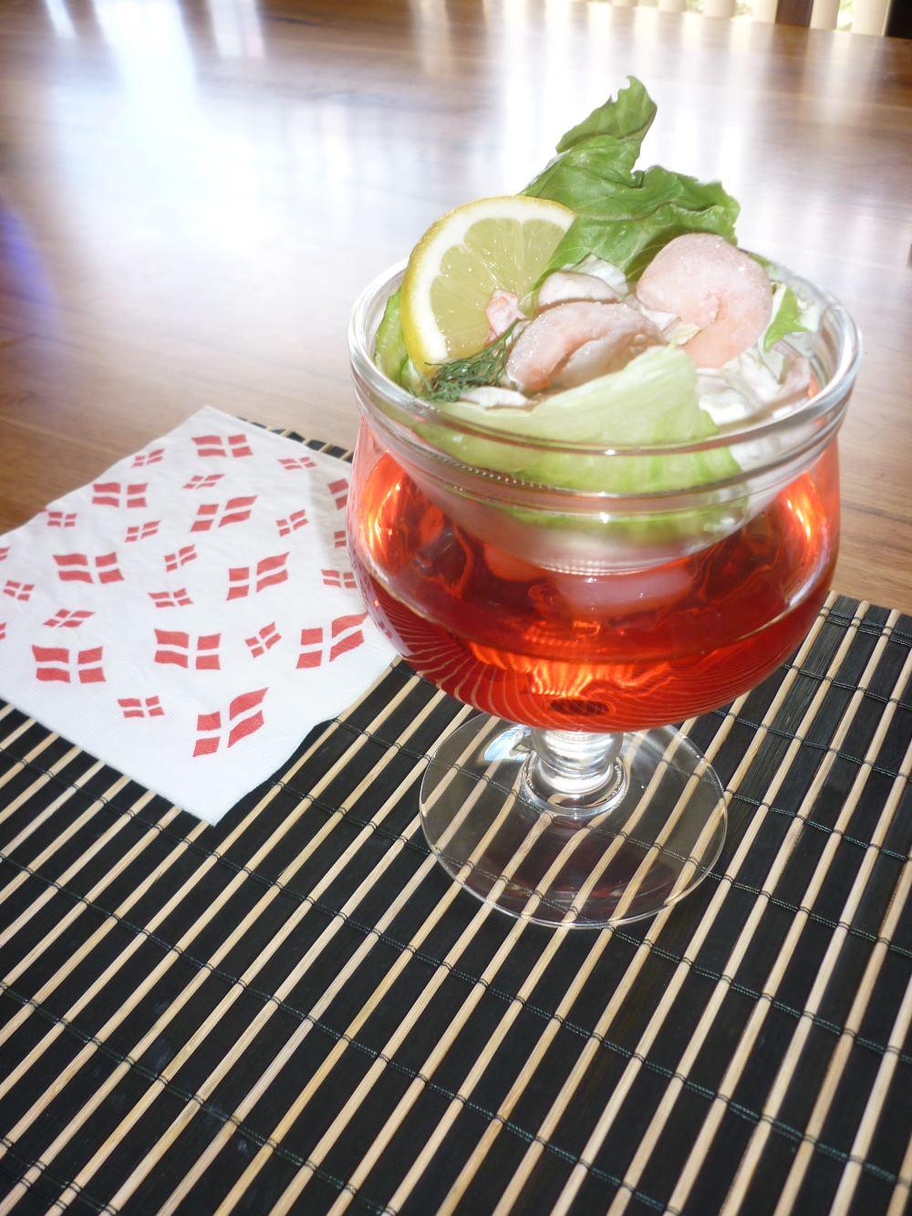 Danish Prawn Cocktail, recipe.