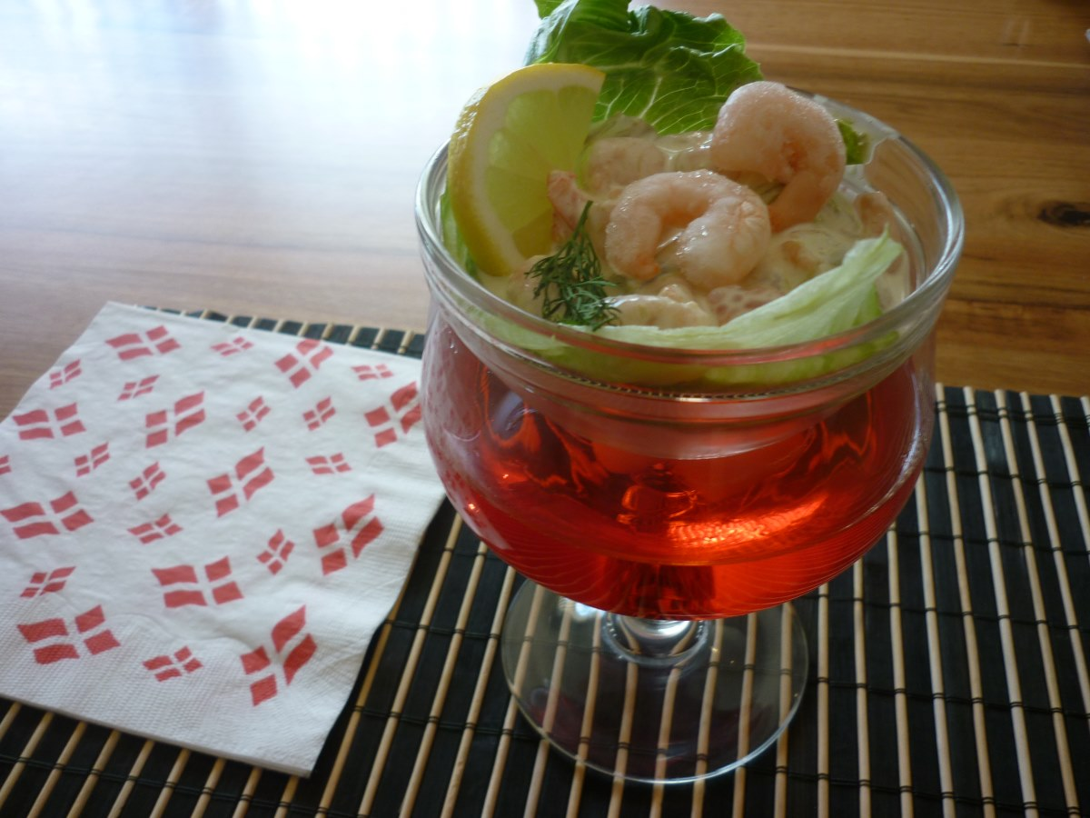 Danish Prawn Cocktail, recipe.