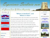 Experience Sardinia.
