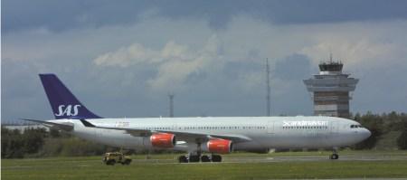 SAS Airbus 340.