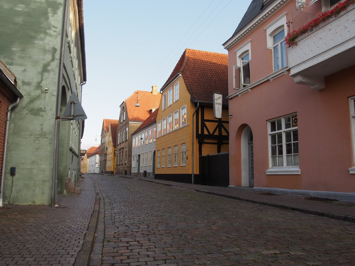 Slotsgade Haderslev.