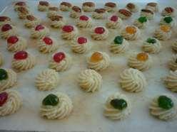 Almond allsorts ( Kransekage konfekt )