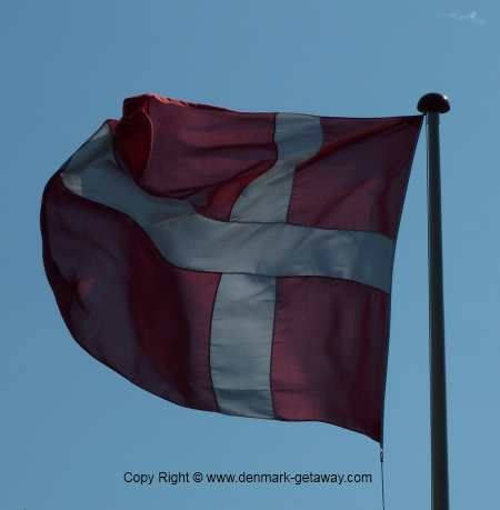 Dannebrog, the Danish flag.