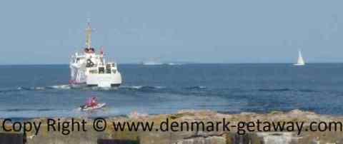 The Ferry Ertholm.