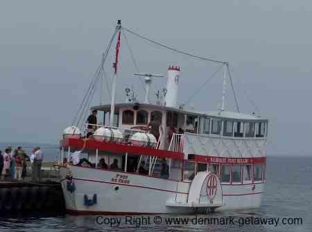 The Ferry Helene in Haderslev.