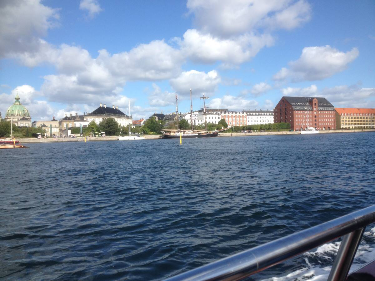The canal's in Copenhagen.