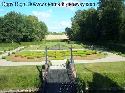 The Gardens at Egeskov Palace.