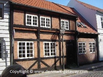 Old house in Ribe.
