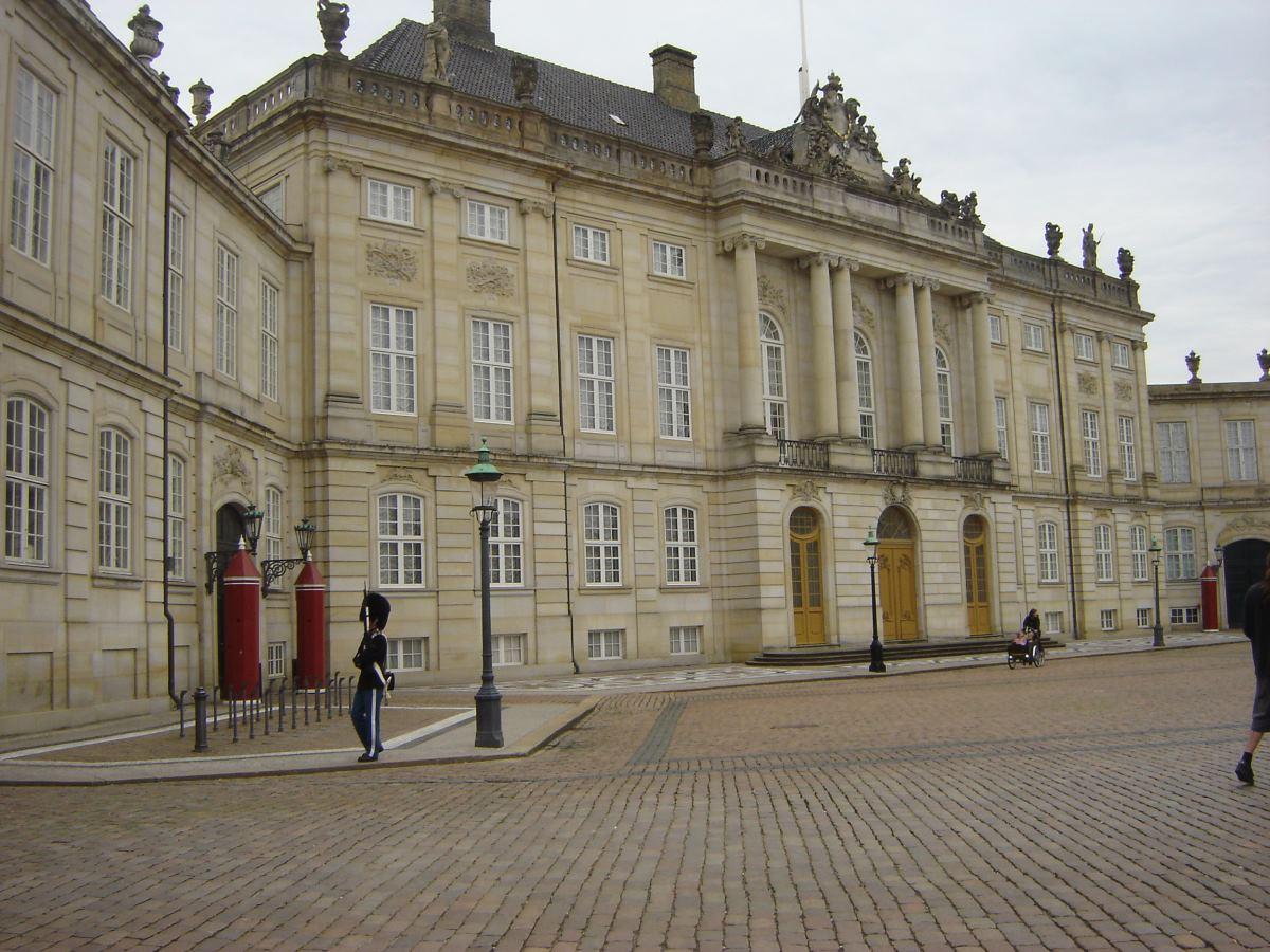 Amalienborg Palace. Copenhagen