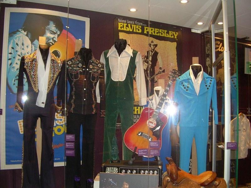 Elvis Presley muserum at The Memphis Mansion.