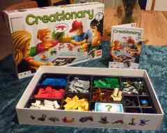Lego Creationary game.