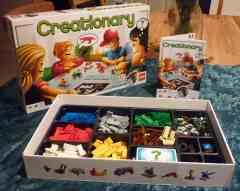 Lego Creationary game.