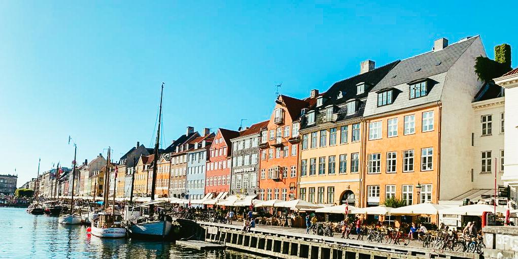 Nyhavn Copenhagen Denmark.