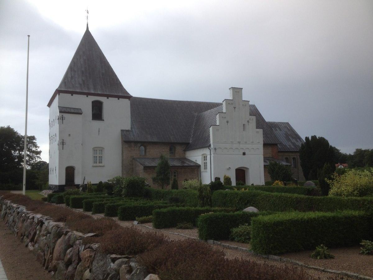 Starup church, Denmark's oldest church.